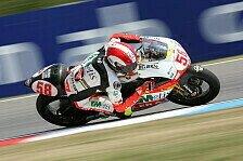 Moto2 - Simoncelli gewinnt Abbruchrennen