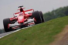 Formel 1 - Ferrari: Etwas konkurrenzfähiger als in Frankreich