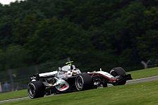 Formel 1 - 2. Freies Training: De la Rosa gewinnt Duell der Testpiloten