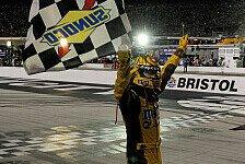 NASCAR - Kyle Busch gewinnt knapp in Bristol