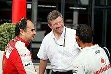Formel 1 - Brawn: Hamilton bat nie um Nr.1-Status