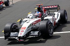 Formel 1 - B·A·R: Button begeistert die Massen