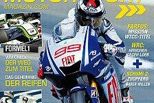 MotoGP - Neue Ausgabe: Motorsport-Magazin 10/09