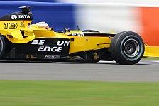 Formel 1 - Jordan: Monteiro baut Ankunftsserie aus