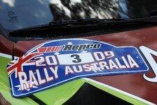 WRC - Rallye Australien will fixen Platz im Kalender
