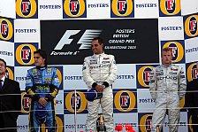 Formel 1 - Großbritannien GP: Erster Silbersieg für Montoya