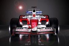 Formel 1 - Toyota präsentierte den TF105