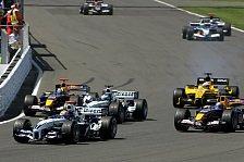 Formel 1 - Erneute Enttäuschung für BMW-Williams