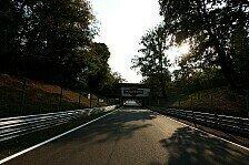 Formel 1 - Sicherheit in Monza wird geprüft