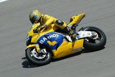 MotoGP - Freies Training: Alex Barros führt das Feld an
