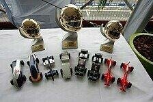 Formel 1 - Modellautos und Motorräder