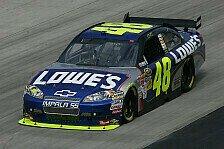 NASCAR - Johnson und Montoya in Startreihe eins