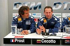 DTM - Alain Prost Schnellster beim Test der Legenden