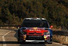 WRC - Rallye Spanien Tag 1: Doppelführung für Citroen