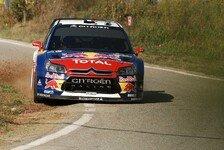 WRC - Rallye Spanien Tag 2 - Loeb und Sordo weiter vorn
