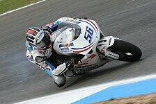 Moto2 - Vorzeitiges Aus für Vladimir Leonov
