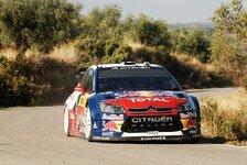 WRC - Rallye Spanien Tag 3 - Doppelsieg für Citroen