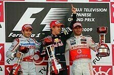 Formel 1 - Bilder: Japan GP - Podium