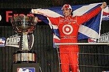 IndyCar - Franchitti: Die Leidenschaft ist noch da