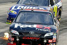 NASCAR - Denny Hamlin gewinnt vor Jimmie Johnson