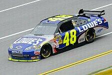 NASCAR - Regen-Pole für Jimmie Johnson