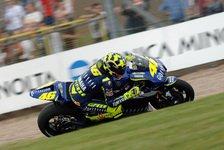 MotoGP - 2. Freies Training: Rossi unterbietet Capirossi