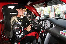 Formel 1 - Cora Schumacher übersteht Rennunfall unverletzt