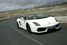 Auto - Auszeichnung für Lamborghini Gallardo Spyder