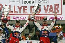 WRC - Ehepaar Loeb bei Rallye du Var am Start