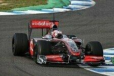 Formel 1 - Tag 2 - Paffett mit Bestzeit vor Hülkenberg