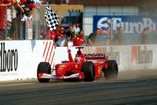 Michael Schumacher: WM-Ferrari versteigert - mit Weltrekord