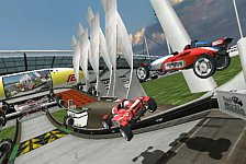 Games - Bilder: Screenshots: Trackmania Wii
