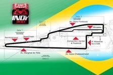IndyCar - IndyCar präsentiert Streckenlayout