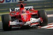Formel 1 - Qualifying: Erste Saisonpole für Michael Schumacher
