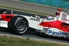 Formel 1 - Toyota: Starke Ausgangslage für das Rennen