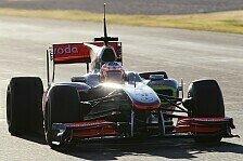 Formel 1 - Button & Hamilton nicht beim Pirelli-Test