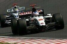 Formel 1 - B·A·R plant einen guten Start in den Schlussspurt