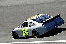 NASCAR - Testfahrten mit neuem Spoiler in Charlotte