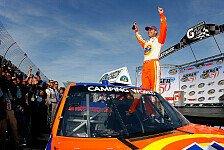 NASCAR - Camping World Trucks: Kevin Harvick siegte erneut