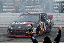 NASCAR - Denny Hamlin gewinnt mit Krankenschein