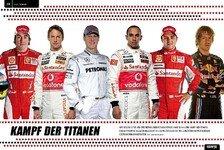 Formel 1 - Vorab-Blick ins neue Motorsport-Magazin