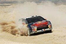 WRC - Rallye Jordanien: Loeb siegt, Räikkönen punktet