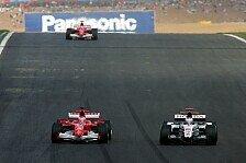 Formel 1 - Über freie Plätze und Startnummerngeschenke
