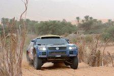 WRC - VW begrüßt Route der Rallye Dakar 2006