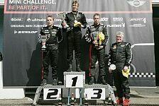 MINI Challenge - Vieth gewinnt das erste Rennen