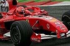 Formel 1 - Geringe Erwartungen bei Michael Schumacher