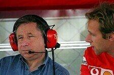 Formel 1 - Jean Todt: Wir sind nicht die Favoriten für Monza