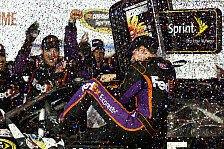 NASCAR - Denny Hamlin in Darlington nicht zu schlagen