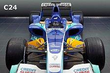 Formel 1 - Bilderserie: Der C23 & C24 im Vergleich