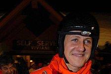 Formel 1 - Michael Schumacher freut sich auf die Herausforderung